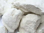 WHITE edible Clay, white dirt, chunks (lump) natural for eating (food), 1 lb