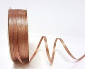 Rose Gold Sparkle Satin 3mm Ribbon by Bertie's Bows Ribbon on a 50m Roll