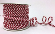 Red & White 4mm Cord on a 30m Roll