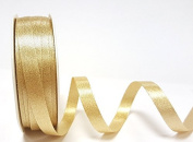 Champagne Gold Sparkle Satin 10mm Ribbon by Bertie's Bows Ribbon on a 20m Roll