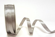 Silver Sparkle Satin 10mm Ribbon by Bertie's Bows Ribbon on a 20m Roll