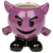 Purple Devil Ceramic Coffee/Tea/Beverage Mug ~ Emoji/Emoti ~