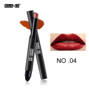 Long Lasting Lip Pen Waterproof Matte Lip Gloss Lip Liner 12 Colours Prettymenny