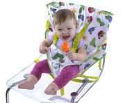 Eric Carle Travel Baby Harness Chair, Converts Any Chair Into Secure Baby Seat