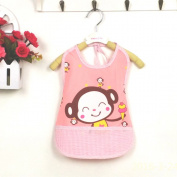 ADSRO Unisex Children Babies Toddler Baby Infants Waterproof Smock Apron Bib Sleeveless Overclothes Anti-clothing