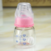 Ventaire Anti Colic Newborn Baby Mini Juice Baby Bottle Attach A Atraw