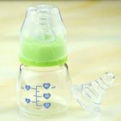 Anti Flatulence Newborn Baby Mini Juice Baby Bottle Attach A Nipple