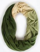 Loop-Dee Bronze Green Camo Ombre Nursing Infinity Scarf