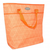 Silver One Durable & Reusable Premium Large Insulated Heavy Duty Cooler Tote Lunch Bag for Pinic/Beach | Zip Closure By Eco One