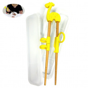 Dancepanda Training chopstick,Chopstick Helper for Children Kids,Natural Wooden Training Chopsticks