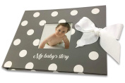 Bebedim Baby Memory Book ~ Keepsake with Monthly Stickers ~ First Five Years Scrapbook ~ Journal & Photo Album for girl and boy