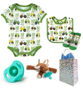 """""""On The Farm"""" 4 Item Baby Shower Gift Set"""