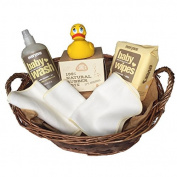 All Natural Bath Gift For Baby With Rubber Ducky