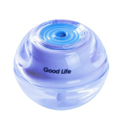 GOOD LIFE Mini Personal Ultrasonic Cool Mist Filter Humidifier Air Purifier Moistair aroma Oil Diffuser for Home Bedroom Office Car with Blue Colour LED Lights USB Power HOU161
