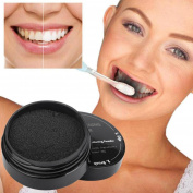 DDLBiz New Teeth Whitening Powder Natural Organic Activated Charcoal Bamboo Toothpaste Powder