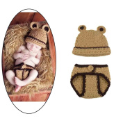 Newborn Infant Handmade Photo Prop Outfit Clothes Knit Crochet Baby Photography Props Cute Mouse