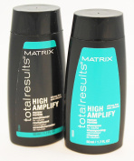 Matrix Total Results High Amplify Protein Shampoo and Conditioner Travel Size Set 50ml Each Mini