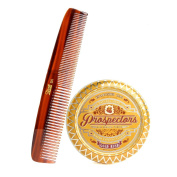 Prospectors Gold Rush Pomade Set- Pomade and Hair Comb