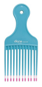 Diane Mebco Fromm Large Lift Comb Double Dipped Pik Teal DBC059