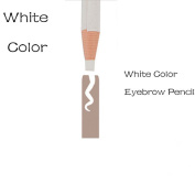 White Colour Microblading Eyebrow Peel-off Pencil Soft Coloured White Pencil WaterProof Marker Liner Pen 2Pcs/Pack QMYBrow