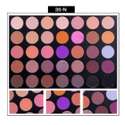Rumas® 35 Colours Shimmer Matte Eye Shadow Eyeshadow Palette Pro Cosmetic Makeup Tool