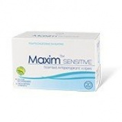 Maxim Sensitive Scented Antiperspirant Towelette Antiperspirant - Prescription Strength Wipes