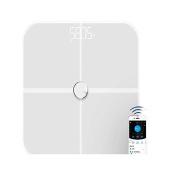 Fat Scales, HoLead Digital Body Fat Analyzer Bluetooth Scale Sync Weight Data