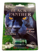 New Extreme 13000 Black Panther - Premium All Natural Male Enhancement Pills