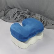 YGR 100% Pure Memory Foam U Shape Seat Cushion,Orthopaedic Design To Relieve Back, Sciatica and Tailbone Pain,Washable Cover