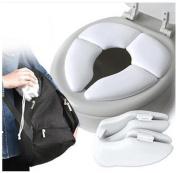 Singleluci Baby Travel Portable Folding Padded U Toilet Seat