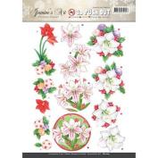 Jeanine's Art Christmas Classics 3D Push Out SB10169 Paper Tole 3-D Decoupage
