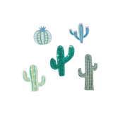 Kikkerland Cactus Patch Iron Set of 5