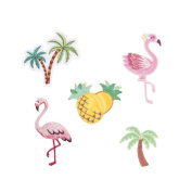 Kikkerland Tropical Patch Iron Set of 5