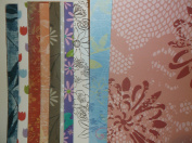 "15 Sheets Various 30cm x 30cm ""Flower"" Cardstock Paper Pack"