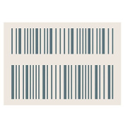 Phill Martin Sentimentally Yours Collection A5 Stencil - Barcodes