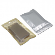 50Pcs 12x20cm (4.7x7.9 inch) Ziplock Self Seal Aluminium Foil Plastic Bag Resealable Gift Craft Packaging Pouch