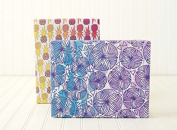 Island Tropical Eco Gift Wrap Set - Reversible Wrapping Paper and Ribbon - Eco-friendly Gift Wrap by Wrappily