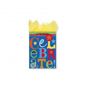 Multicoloured Celebrate Birthday XL Gift Bag
