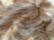 50g50ml Seal Faux Fur Bulky yarn by Lanas Stop #103
