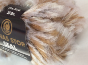 50g50ml Seal Faux Fur Bulky yarn by Lanas Stop #108