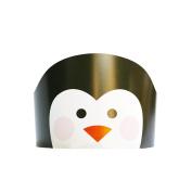 Remeehi Kids Crown Birthday Hat Cute Cartoon Animals Paper Caps Children's Head Decorations Kids Gift Toys Birthday Party Hats Penguin