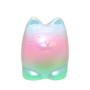 1PCS 10cm Rainbow Tiger Slow Rising Squeeze Toy Stress Relief Toys Kids Gift Party Favours