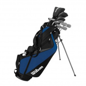 Wilson Mens Tour Velocity Complete Standard Right Golf Club Set & Bag WGGC63500