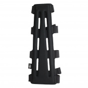 SAS 29cm Black Long Archery Armguard with 4-Strap Buckles