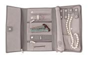 Saffiano Leather Travel Jewellery Case - Jewellery Organiser by Case Elegance
