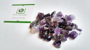 Grade Amethyst Tumblestones 50 grammes set Reiki Healing Crystal Chakra Gemstone