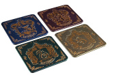 Harry Potter Hogwarts Crest Coasters, Multi-Colour