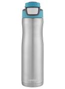 Contigo AUTOSEAL Chill Insulated Water Bottle 710ml Scuba Blue Stainless Steel