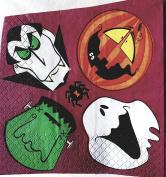Monster Mash Paper Napkins - Halloween Napkins