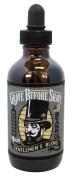 GRAVE BEFORE SHAVE Gentlemen's Blend Beard Oil (Bourbon/Sandal Wood Scent) 120ml BIG BOTTLE